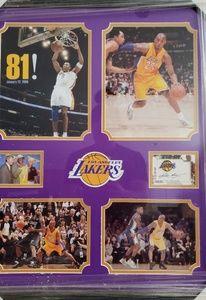 Kobe Bryant memorabilia with COA